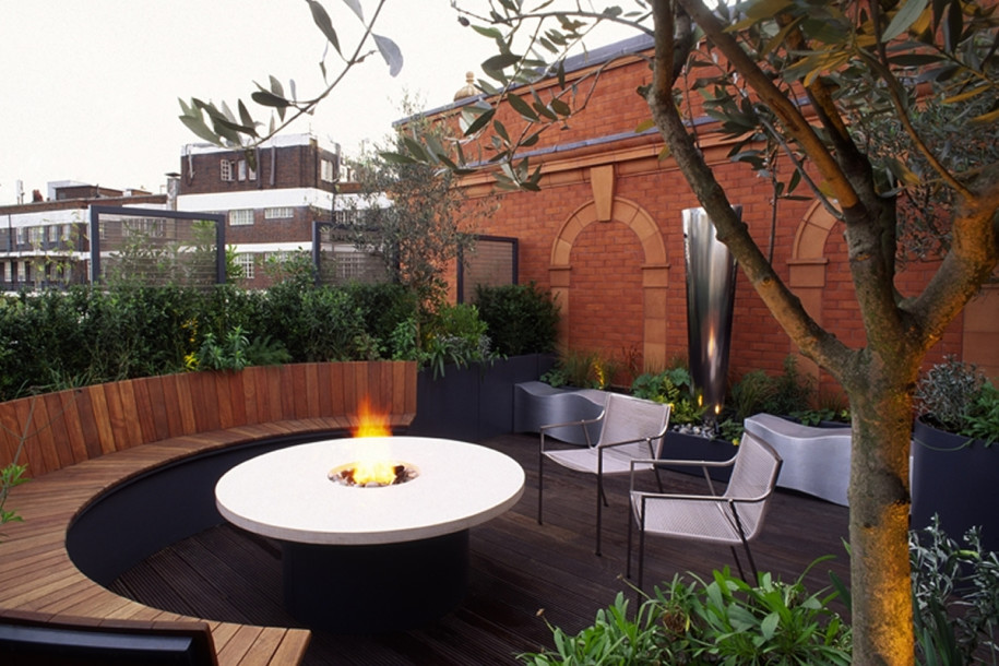 rooftop garden cafe