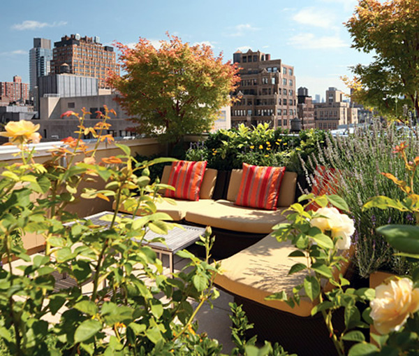 25 beautiful rooftop garden designs to get inspired for Rooftop gardening