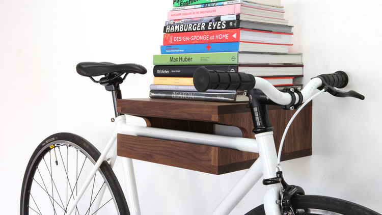 21 creative indoor bike storage ideas for space saving Bicycle bookshelf