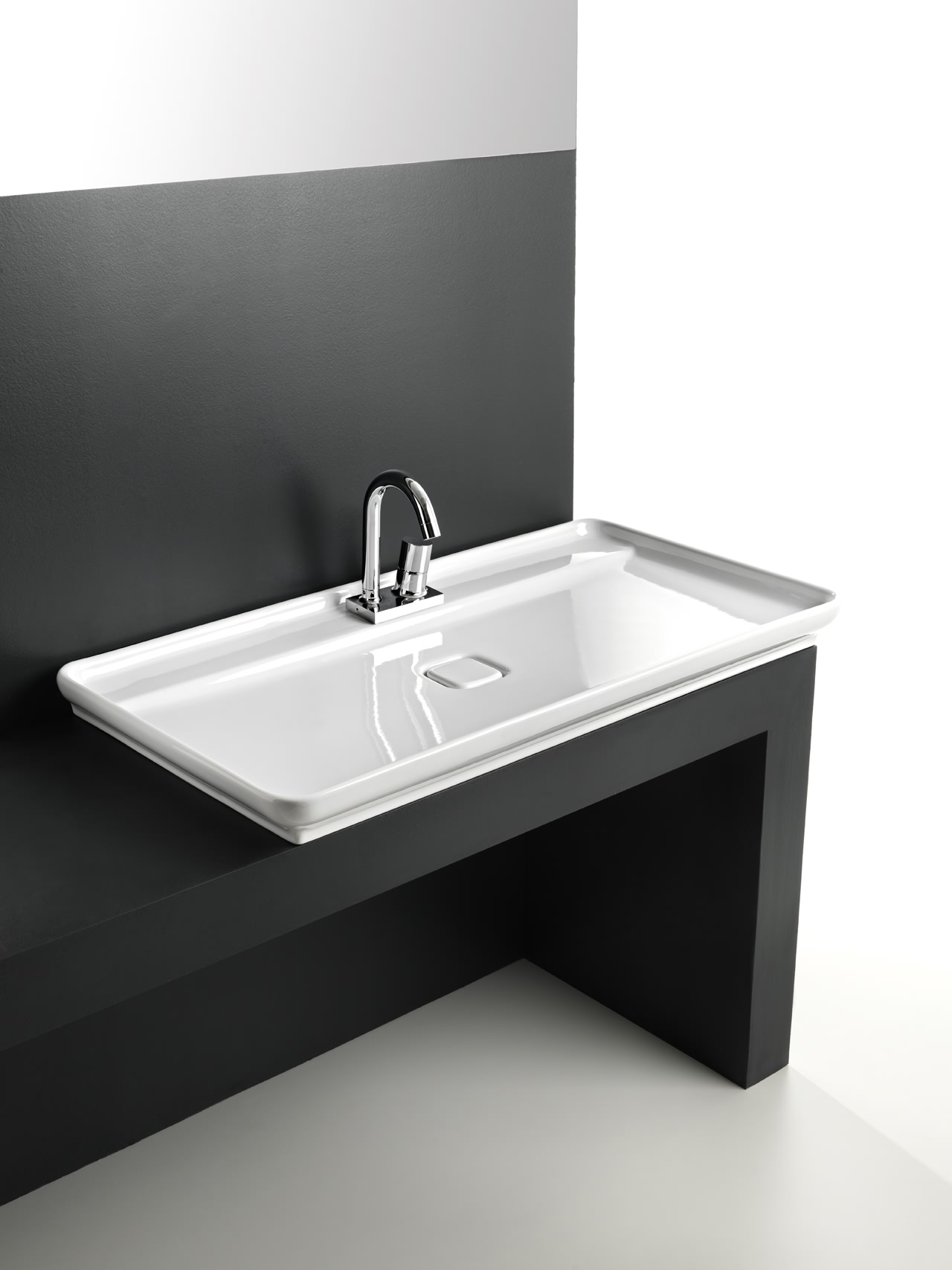 35 unique bathroom sink designs for your beautiful bathroom for Evier de salle de bain en pierre