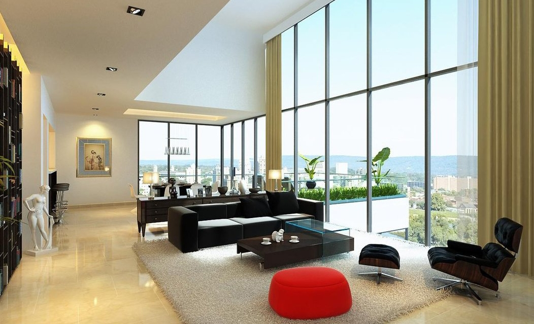 35 amazing modern living room design collection. Black Bedroom Furniture Sets. Home Design Ideas