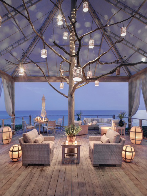 Beach Style Deck Design Ideas
