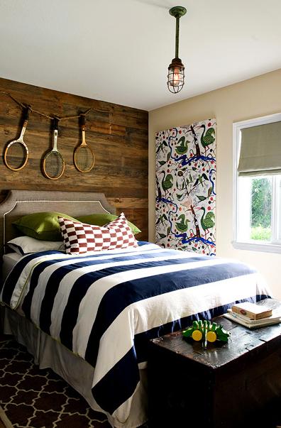 Bedroom Reclaimed Wood Wall