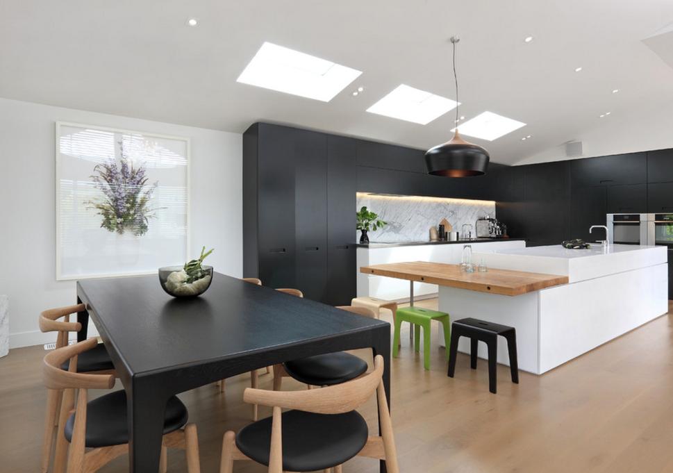 Black Furniture Interior Design Photo Ideas
