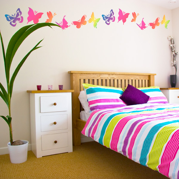 Butterfly Bedroom Wall Decor Ideas