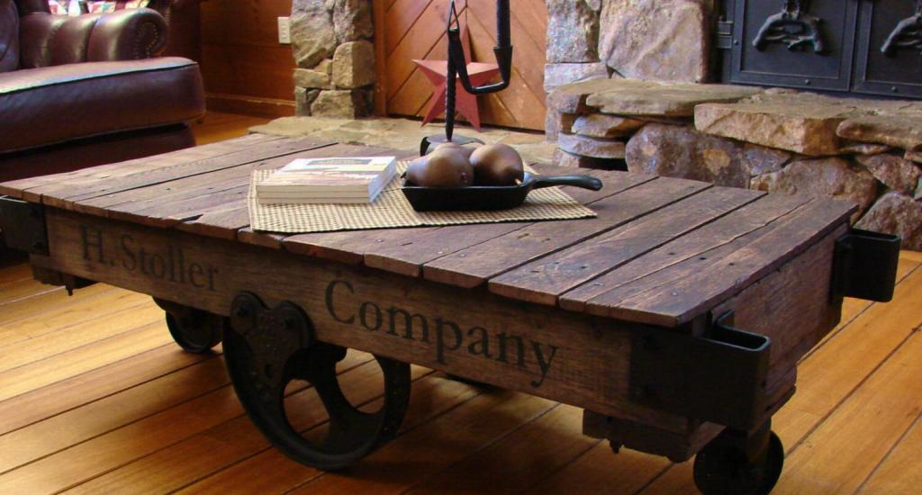 Classic Coffee Tables Completed With Wheels
