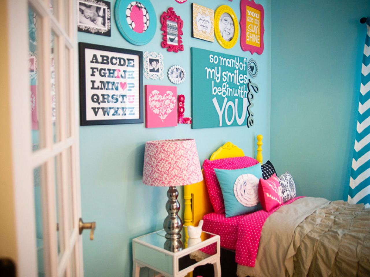 Colorful Girl's Hangout