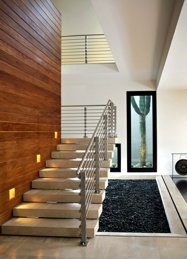 Lighting Basement Washroom Stairs: Modern Staircase Collection For Your Inspiration