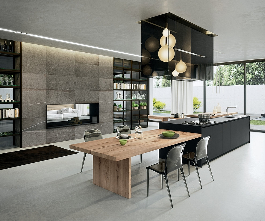 Contemporary Kitchens with Cutting Edge Design