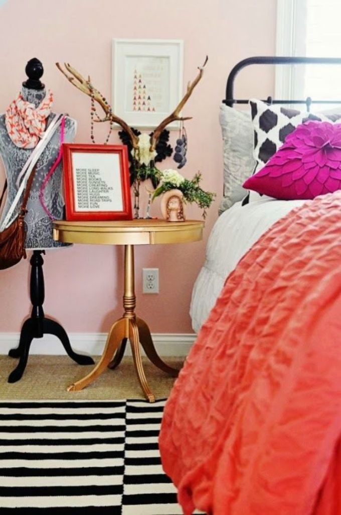 Eclectic Chic bedroom