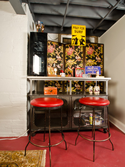 Eclectic Home Bar Designs