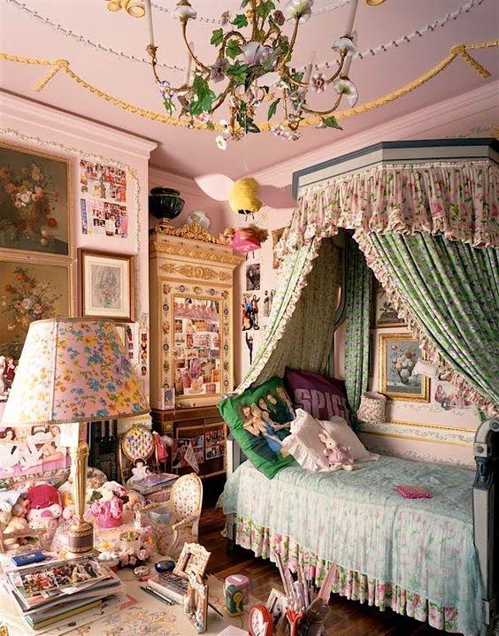 Feminine Bohemian Bedroom