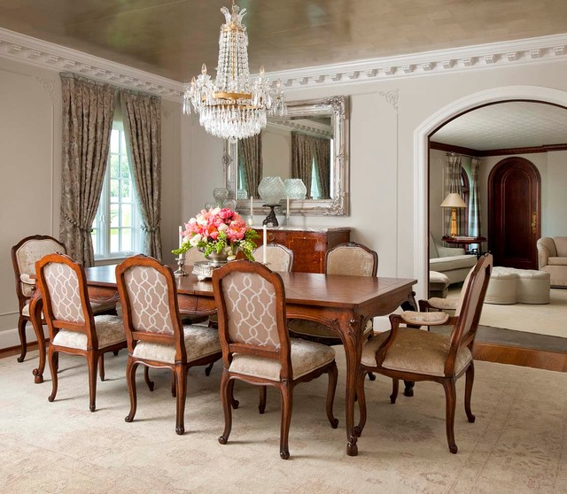 30 Elegant Traditional Dining Design Ideas · Dwelling Decor
