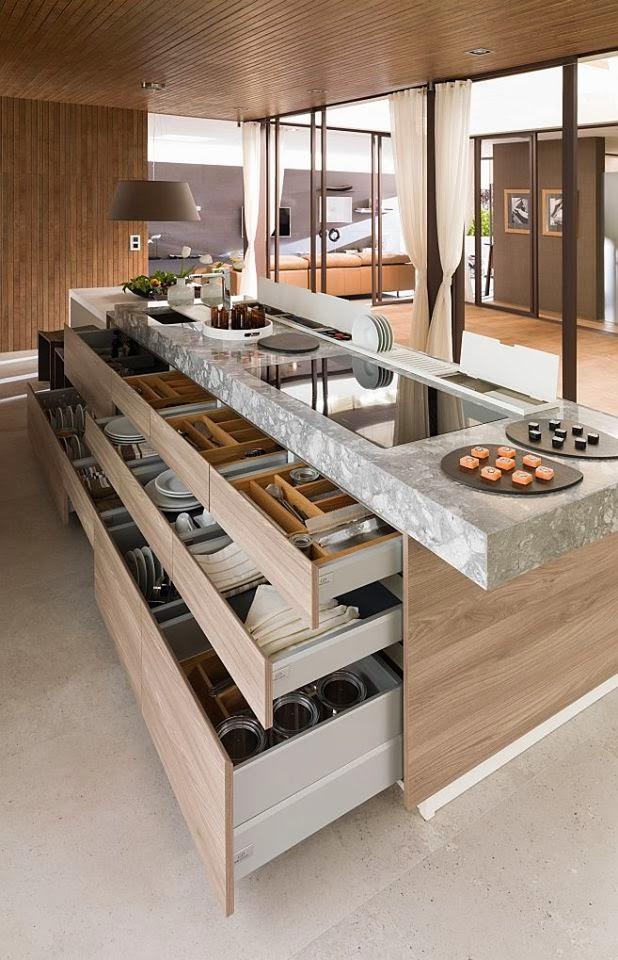 Functional Contemporary Kithen Designs