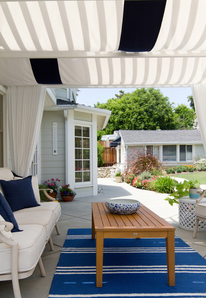 Hamptons style outside deck