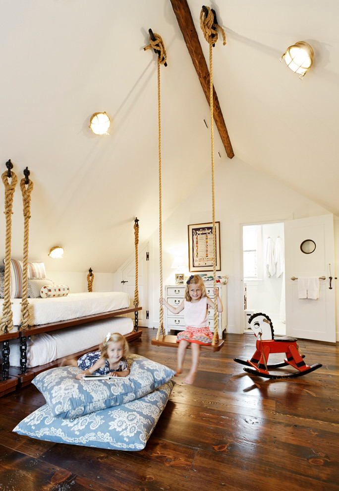 Kids Beach Style with Kids Bedroom next to Modern Condo