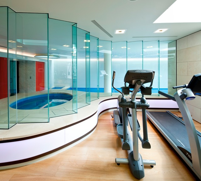 Home Gym Design Ideas: 20 Ultra Modern Sleek Gym Design Collection To Get Inspired