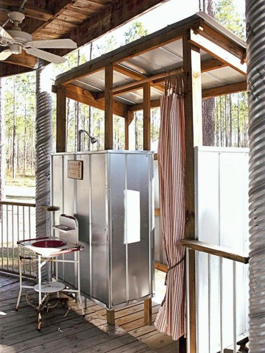 20 Refreshing Luxurious Outdoor Showers · Dwelling Decor