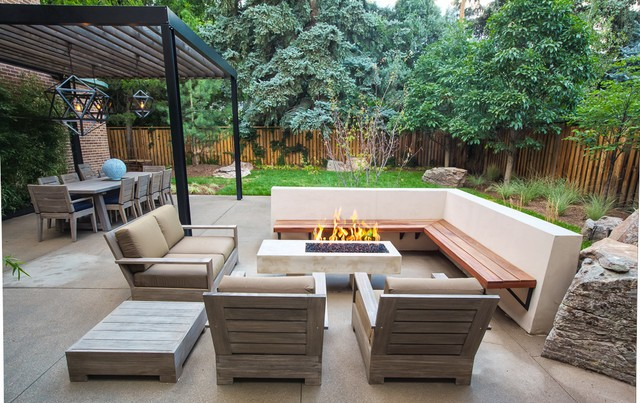 21 Stunning Midcentury Patio Designs For Outdoor Spaces on Modern Backyard Patio id=86036