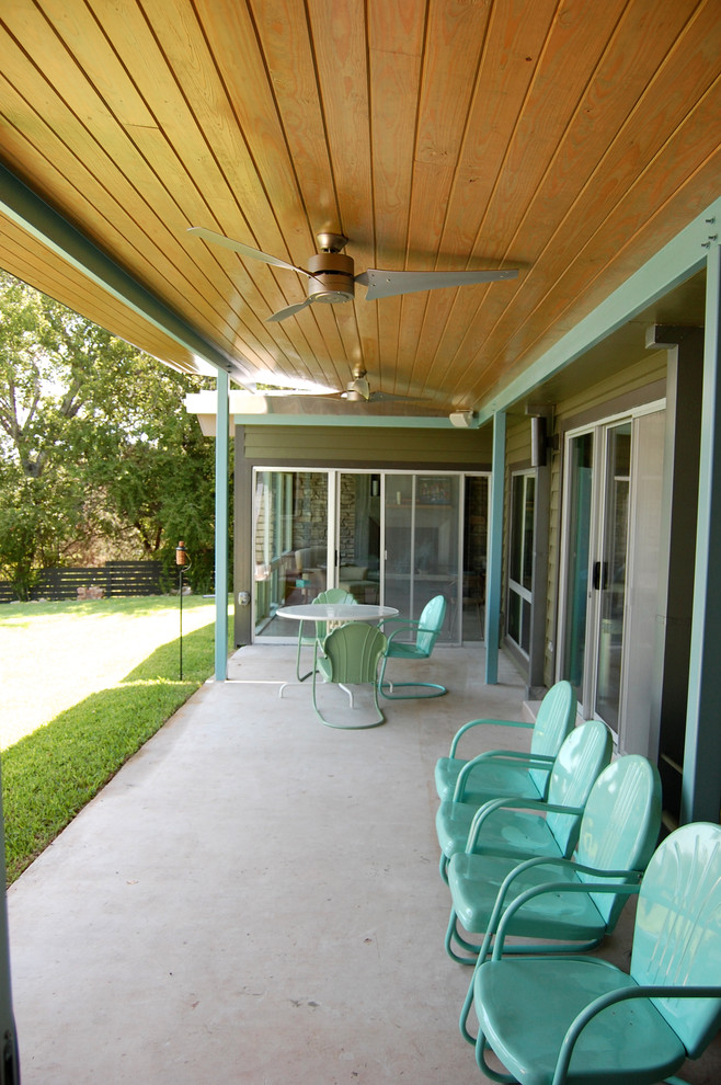 Midcentury Porch