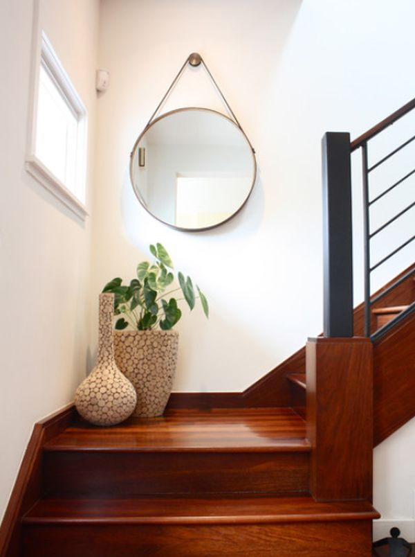 Mirror Ideas for staircase landing