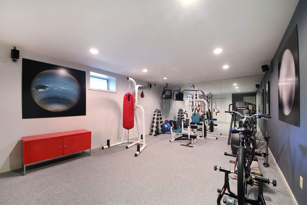 Home Gym Design: 20 Ultra Modern Sleek Gym Design Collection To Get Inspired