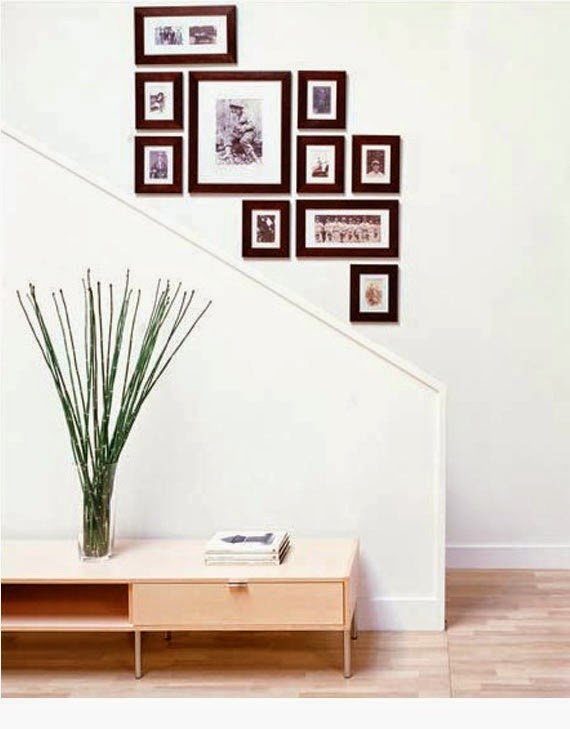 25 modern staircase landing decorating ideas to get inspired - Modern wall decor ideas ...