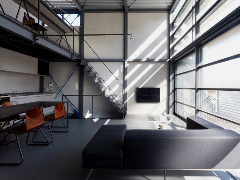 Modern Steel Framed Stairs