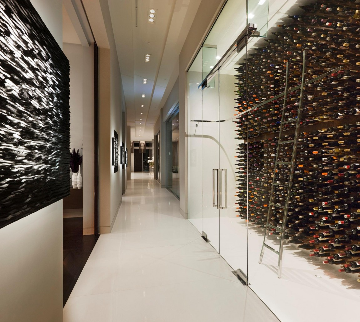 Eclectic Design 15 Home Bar Ideas To Enjoy Your Drinks: 31 Modern Wine Cellar Design Ideas To Impress Your Guests