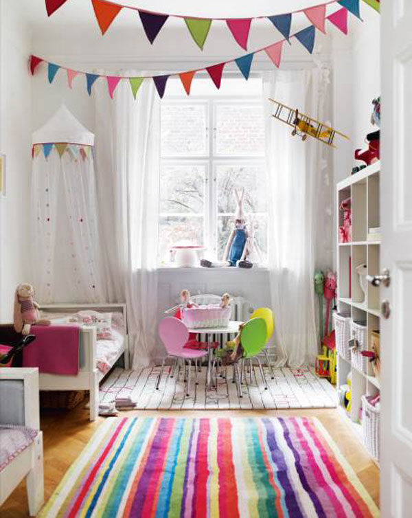 Multicolored Interior Design
