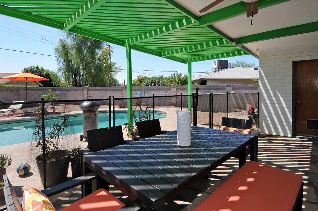 Patio-with green pergola