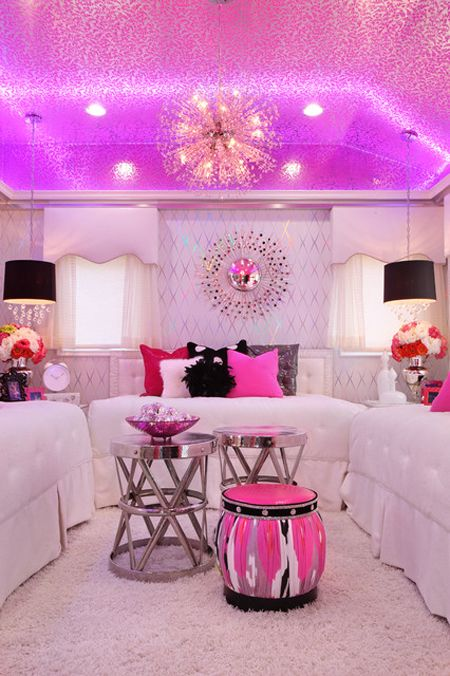 30 Colorful Girls Bedroom Design Ideas You Must Like on Decoration Room For Girl  id=39682