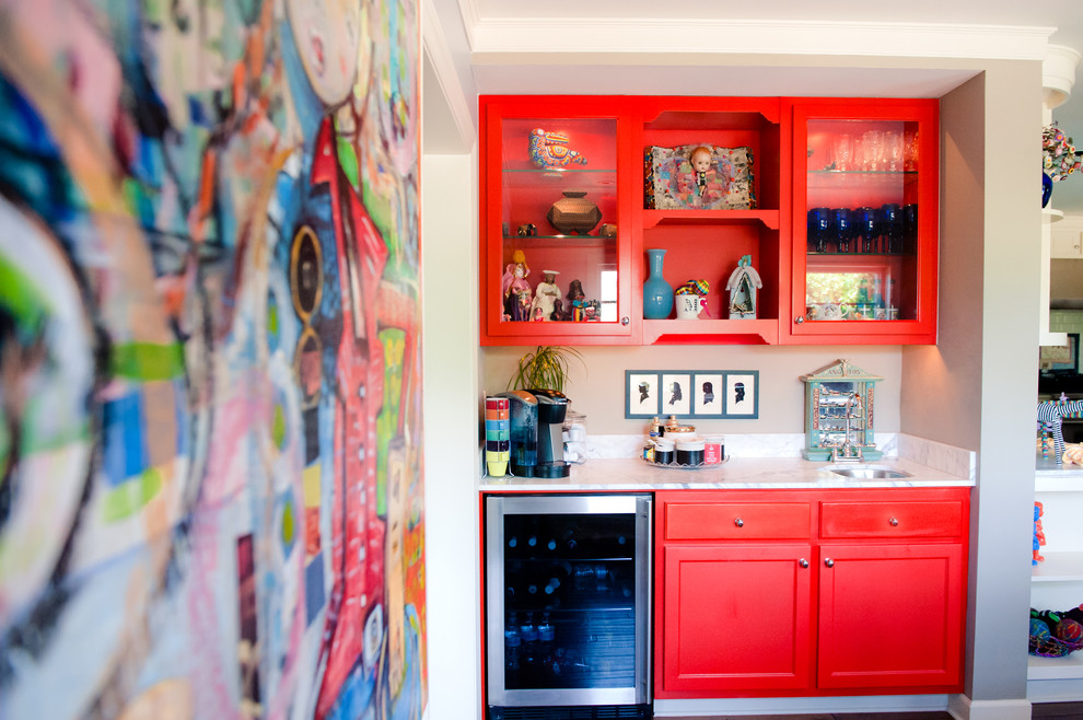 Pretty-Home-Bar-Eclectic-design