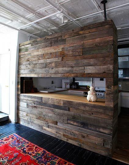 The beauty of reclaimed wood interior design explained - Reclaimed wood kitchens ...