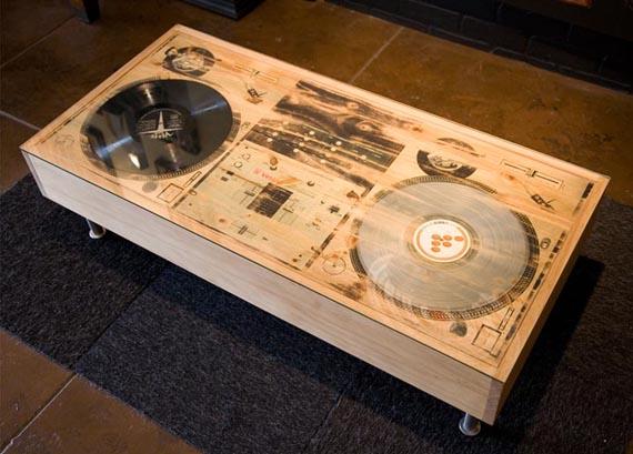 Scratch DJ Coffee Table