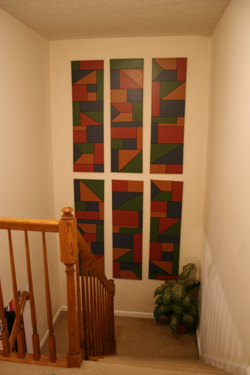 25 Modern Staircase Landing Decorating Ideas to Get Inspired on Creative Staircase Wall Decorating Ideas  id=57520