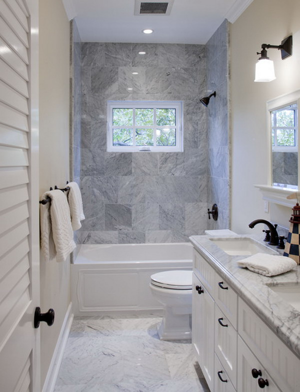 The Small Bathroom Design