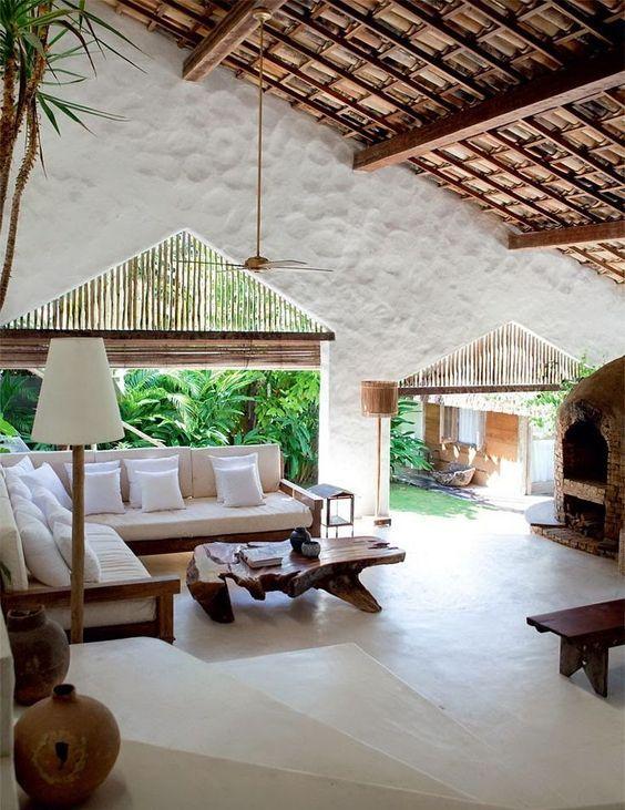 21 Fresh Airy Beach Style Outdoor Design Ideas on Beach House Patio Ideas id=55342