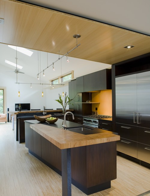 30 stylish functional contemporary kitchen design ideas for Unique modern kitchens