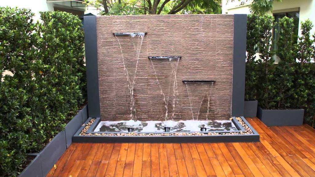 Water Feature for Modern Garden