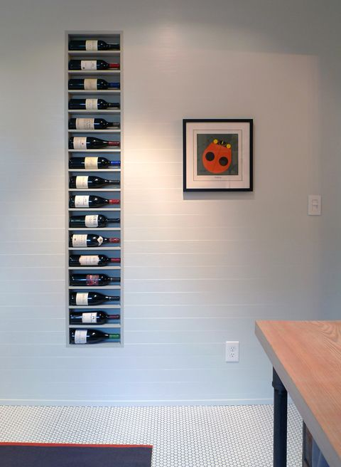 Wines in a wall