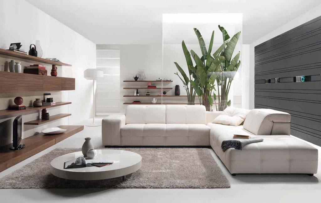 30 modern style houses design ideas for 2016 for Contemporary living rooms 2016
