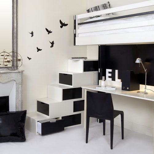 black and white interior design ideas