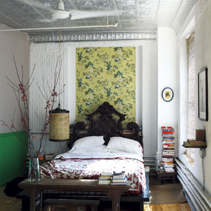 Eclectic bedroom inspiration