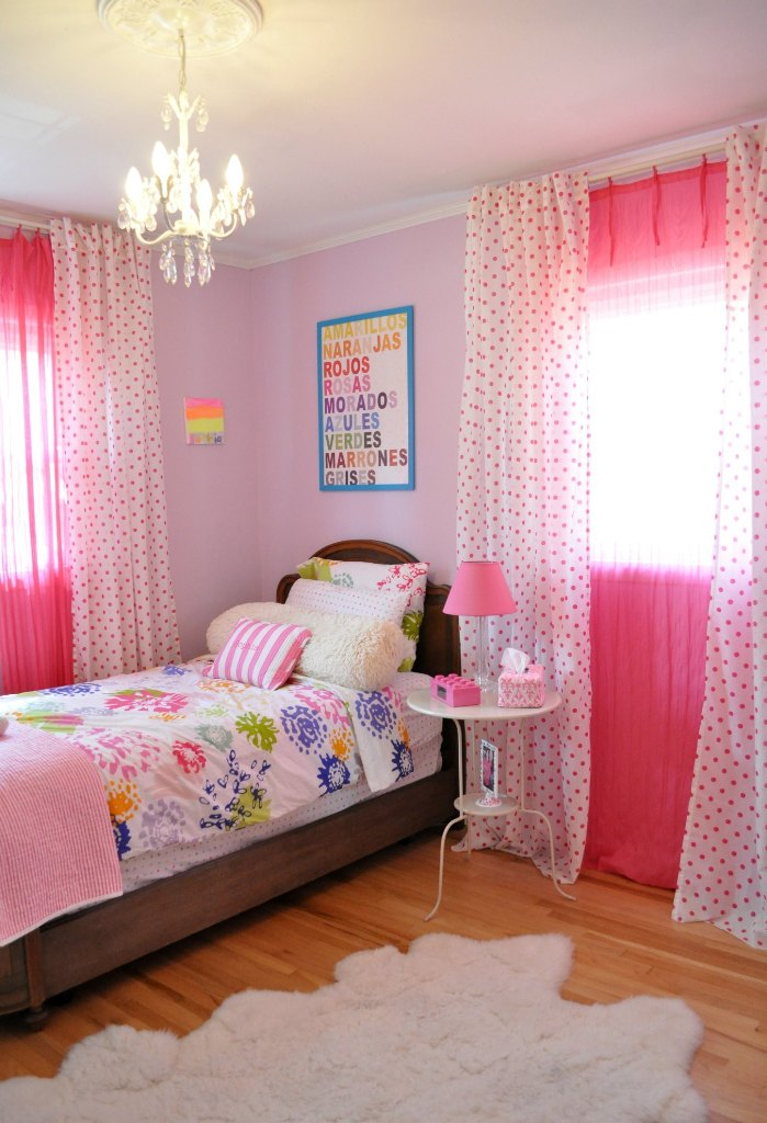 30 colorful girls bedroom design ideas you must like for Girl bedroom designs