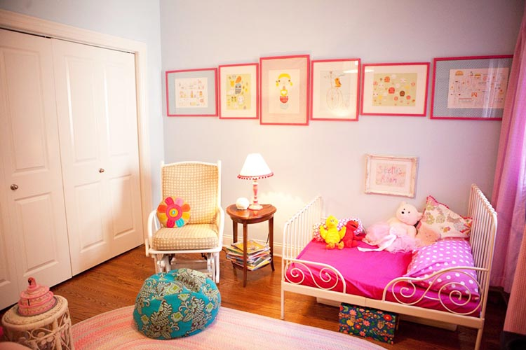 Decoration For Girls Bedroom 30 colorful girls bedroom design ideas you must like