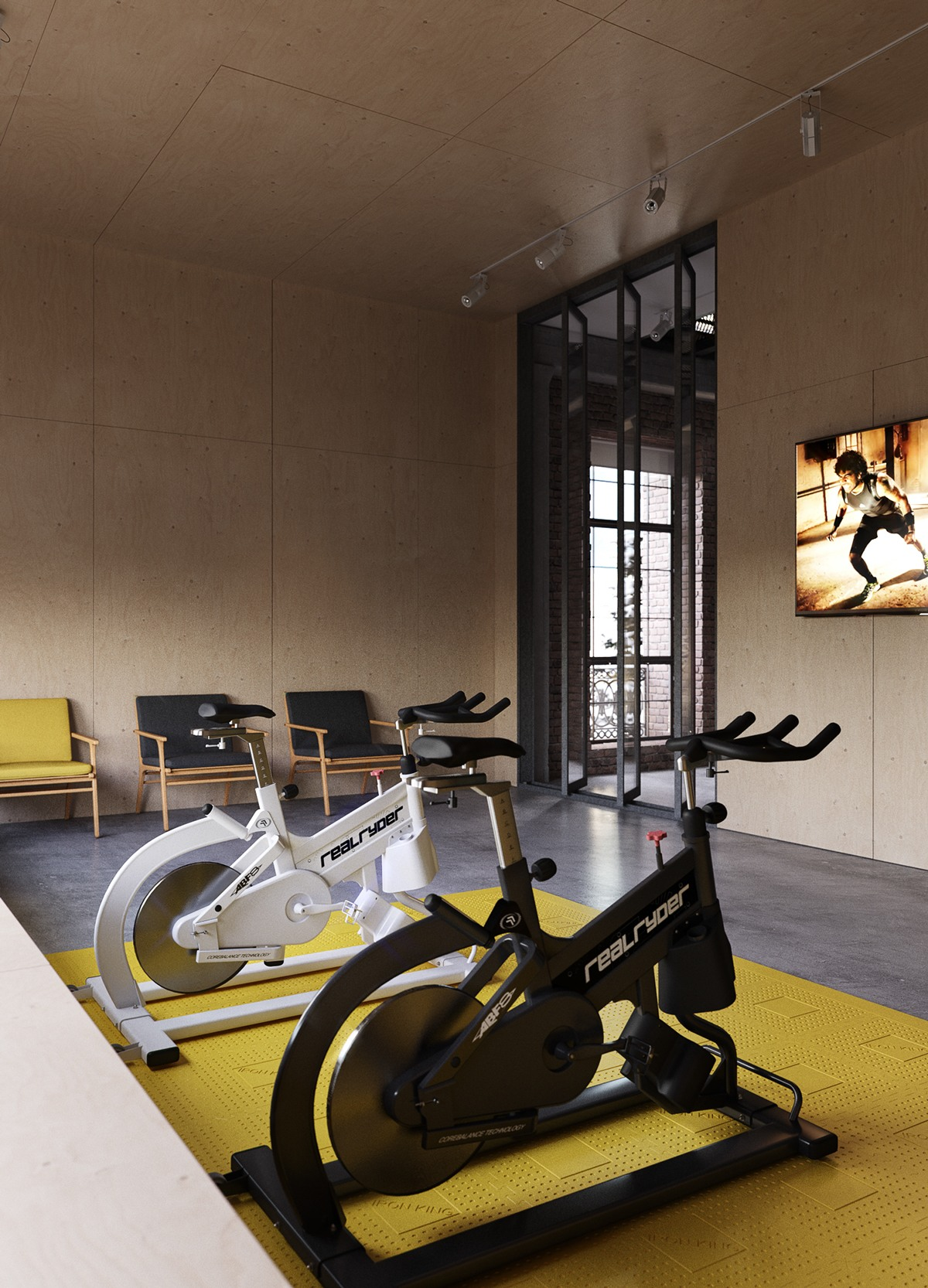 20 ultra modern sleek gym design collection to get inspired