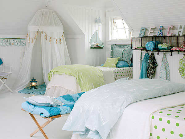26 cute beach style kid 39 s bedroom design ideas for Beach bedroom ideas pictures