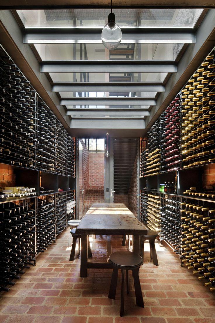 large modern wine cellare