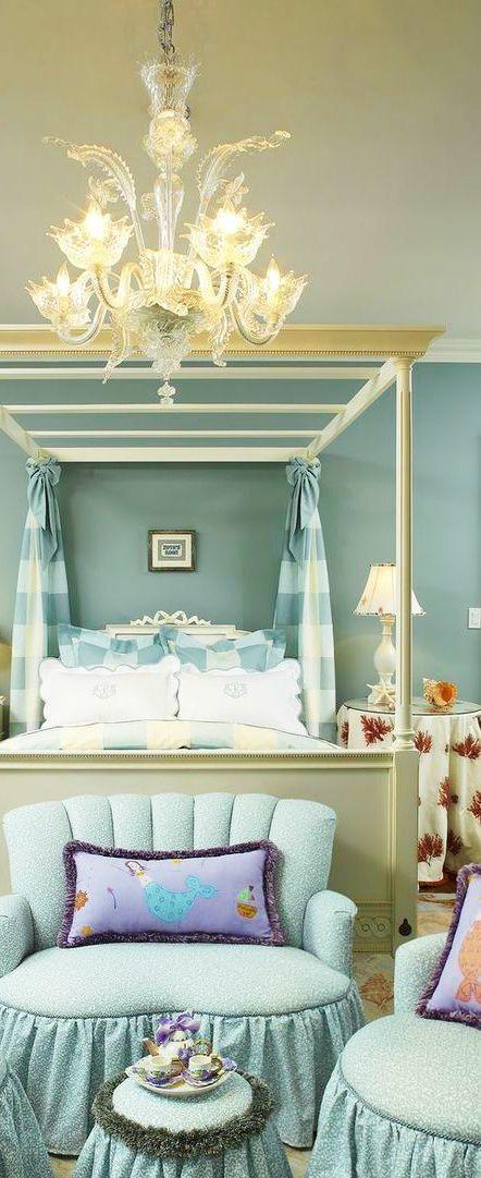 lavender color room decoration